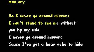 I NEVER GO AROUND MIRRORS - MERL HAGGARD[KARAOKE]