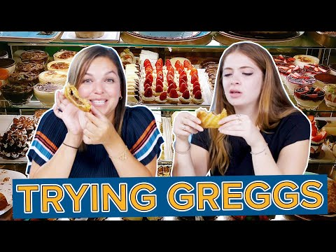 Americans Try Greggs For The First Time
