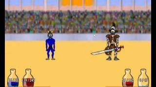 Miecze i Sandały I - prezentacja postaci po przejściu gry