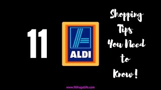 ALDI Shopping Tips 11 You Need to Know!
