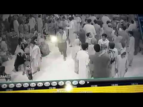 CCTV footage of shrine of hazrat Laal Shahbaaz qulandar  sehwan shareef blast.