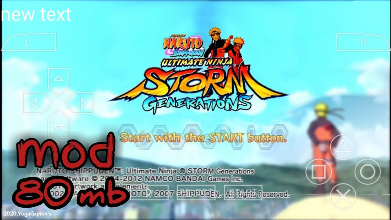 Download Naruto Shippuden Ultimate Ninja Impact Mod Storm Generations Ppsspp For Android Youtube