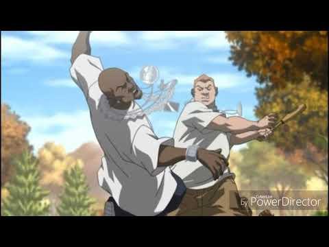 boondocks grandad fight