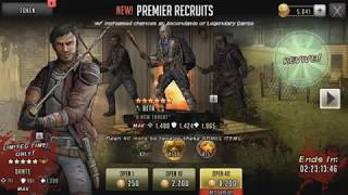 (70+ pulls)  LEGENDARY DANTE - The walking dead : road to survival