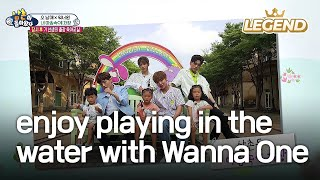 Seol-Su-Dae enjoy playing in the water with Wanna One! [The Return of Superman / 2017.08.20] thumbnail