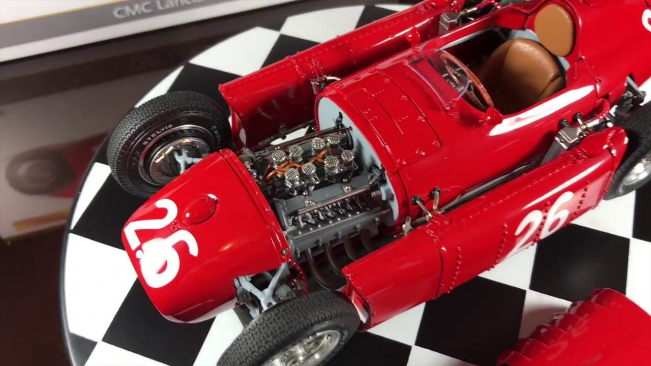 Cmc Lancia D50 118 Scale Engine Details Youtube
