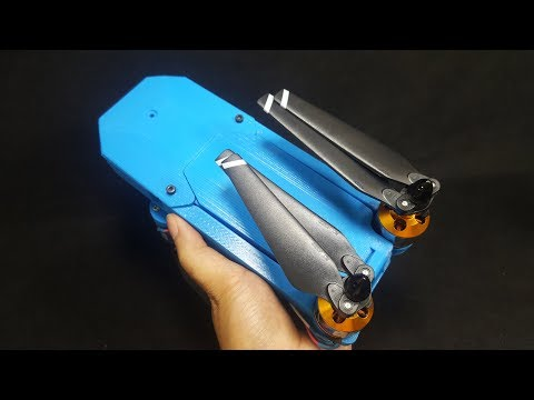 How to make a DJI Mavic Clone Quadcopter With 3D Printer