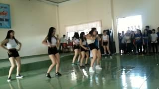 [Duyệt văn nghệ 2015] VK15 nhảy Grazy dance