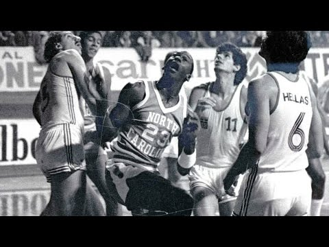 GREECE - NORTH CAROLINA (M.JORDAN in Sporting, 21 October, 1983)
