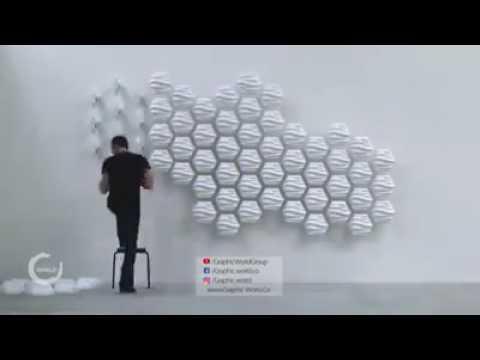 3D modern wall design