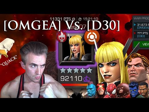 War [OMGEA] Vs. [D30] 10 Fights & Magik War Boss [The Bimbo of Limbo] - Marvel: Contest of Champions