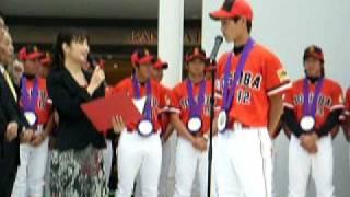東芝野球部 第81回都市対抗優勝報告会②