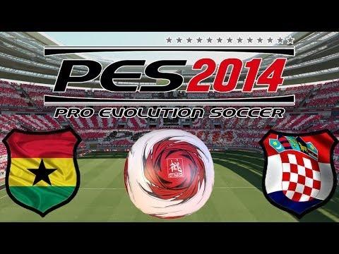 PES 2014 WM (Gruppenspiele) - Ghana vs. Kroatien