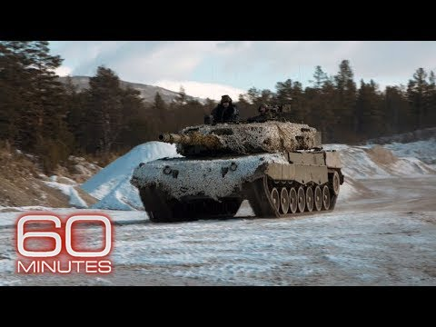 NATO trains for Russian Invasion in Norway - YouTube