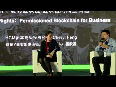 TechCrunch Shanghai 2017 - Blockchain Rights: Permissioned Blockchain for Business