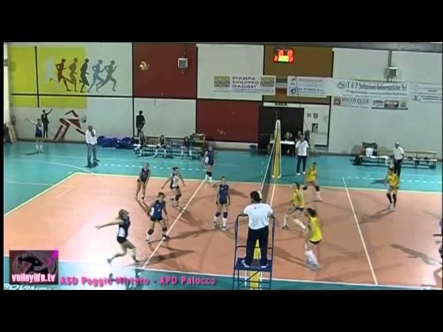 ASD Poggio Mirteto vs APD Palocco - 3° Set - Playout Serie D