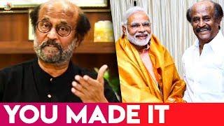 """You made it"": Rajinikanth wishes PM Narendra Modi | Superstar , Lok Sabha Election 2019 | Hot News"
