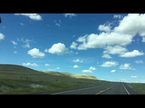 Driving from Missoula to Greatfalls MT