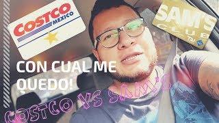 COSTCO VS SAM`S CLUB   CUAL ES MEJOR?
