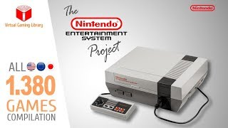 The NES Project - All 1380 NES Games - Every Game (US/EU/JP)