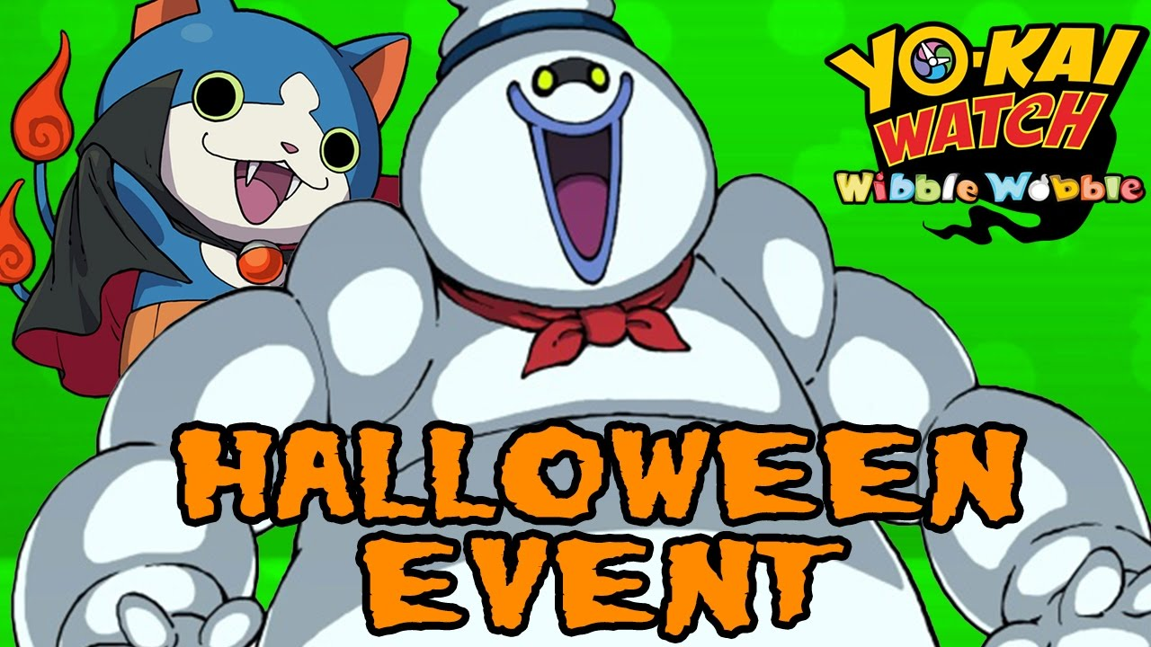 Yo-kai Watch Wibble Wobble - Halloween Event - YouTube