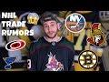 NHL TRADE RUMORS! Bruins, Hurricanes, Islanders, Blues, Blue Jackets, & Senators (January 2019)