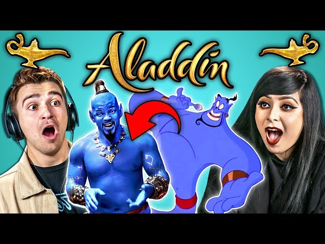 Adults React To Aladdin Trailer And Memes