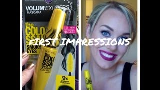 Maybelline the Colossal SMOKY EYES Mascara - First Impressions/Demo Thumbnail