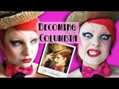 Becoming Columbia : Makeup Fun Times
