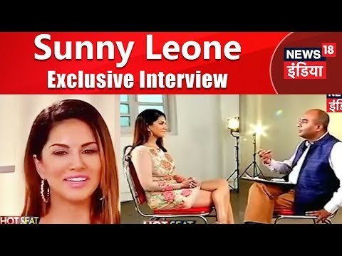Sunny Leone Hot Seat   Exclusive Interview   News18 India