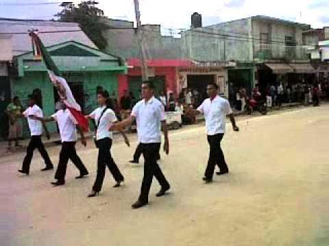 Desfile del 20 de noviembre en escarcega campeche itse for Alberca 20 de noviembre campeche