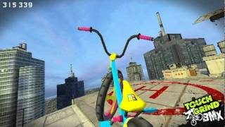 Awsome new bmx free style - Touchgrind BMX