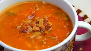 Roasted Tomato And Bacon Soup
