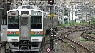 高崎車211系3000番台 回送電車 高崎発車