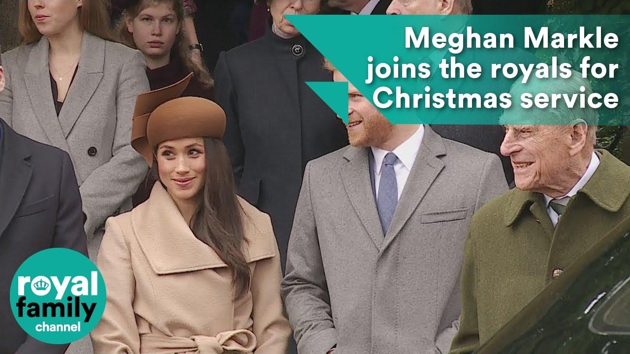 Meghan Markle Christmas.Meghan Markle Joins The Royals For Christmas Service