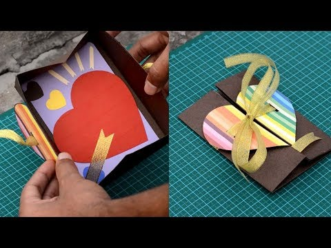 DIY- Love Message Box | Envelope heart card Gift | For Boyfriend/Girlfriend