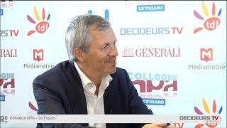 Colloque NPA-Le Figaro 2015  : Frédéric Bedin, Hopscotch