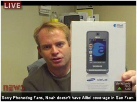 Samsung Delve (Alltel) - Full Video Review