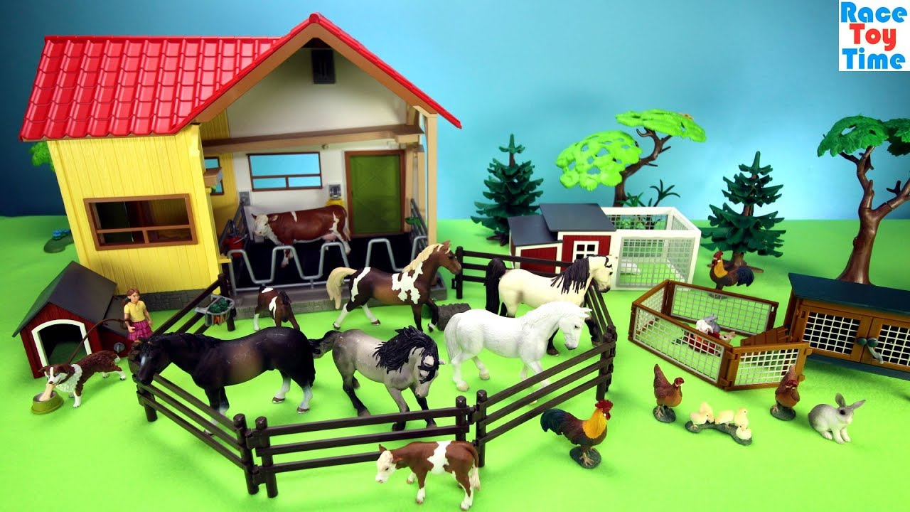 Kids Play Horse Stable