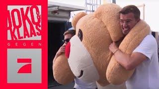3,80 m großen Bären aussetzen: 22 km Weg in einer Stunde! | Spiel 3 | Joko & Klaas gegen ProSieben
