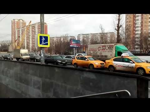 Москва 4 - улица селигерская Коровинское и Дмитровское  шоссе, восемьсот 800-летия Москвы зимой днем