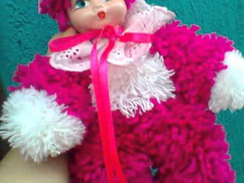 5700869d02442 linda boneca de lã - YouTube