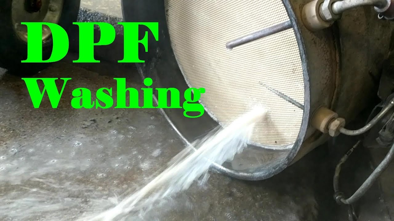 Dpf Filter Cleaning >> Washing a Cummins DPF and DOC - YouTube