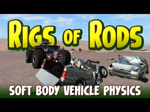 Lets Play Rigs of Rods - Soft Body Vehicle Physics Sandbox