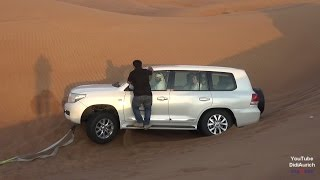 VAE Dubai Wüsten Safari Desert Safari Dune Drives Sand Skiing Offroad Wüstensafari in Dubai برية