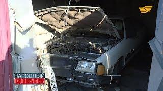 Жительница Талдыкоргана жалуется на постоянные аварии около дома