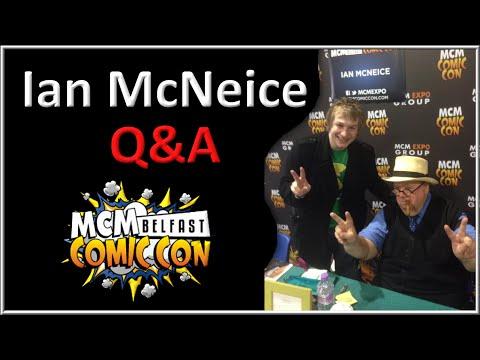 Ian McNeice Q&A Panel  Belfast Comic Con 7th June 2014