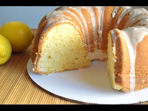Lemon Cream Cheese Pound Cake Recipe  Cooking With Carolyn