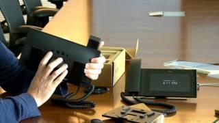 Unboxing the new Meraki MC74 IP phone