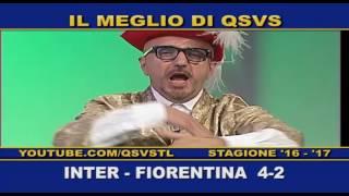 QSVS - I GOL DI INTER - FIORENTINA 4-2 TELELOMBARDIA / TOP CALCIO24